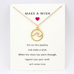 Jewelry - A New Make a Wish Necklace
